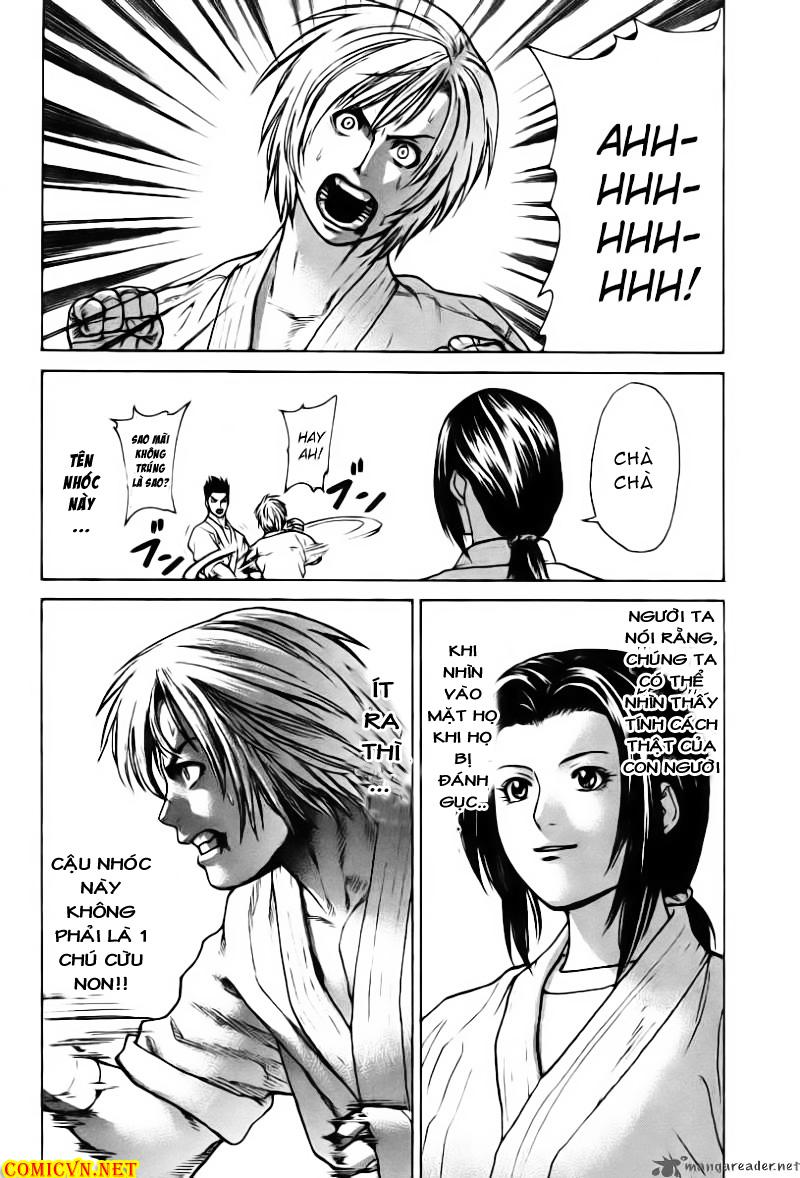 Karate Shoukoushi Kohinata Minoru chap 20 Trang 14