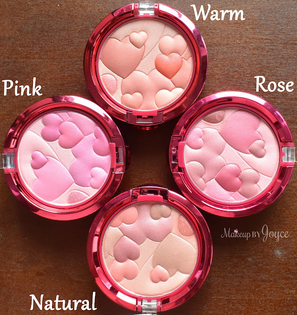 Physicians Formula Happy Booster Glow & Mood Boosting Blush Swatches