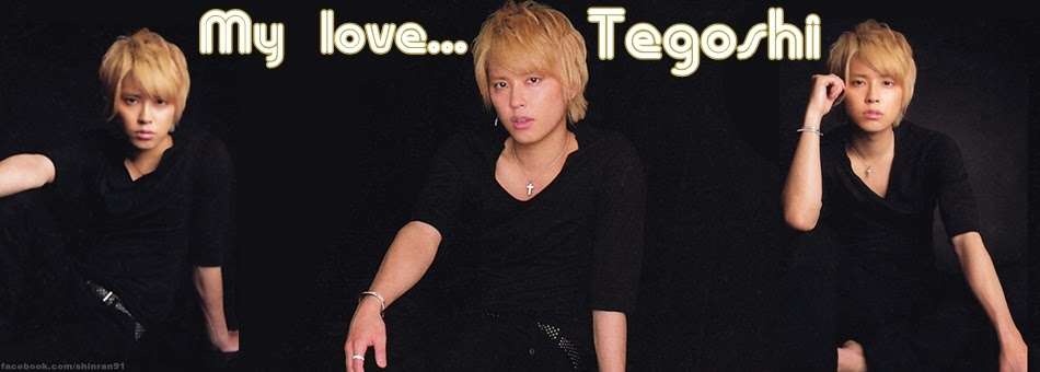 Tegoshi's love ♥