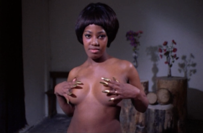 The Nude Vampire naked black girl