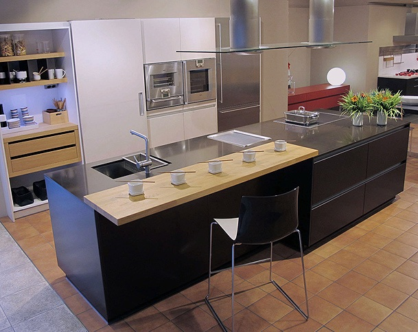 Fotos cocinas modernas abiertas for Cocinas modernas barcelona