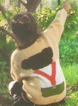 sweterek dziecięcy