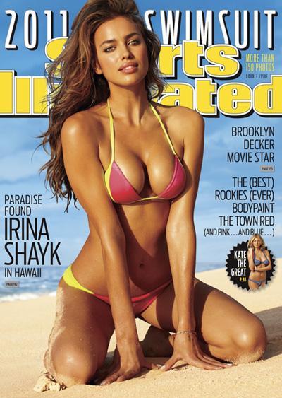 Sports Illustrated Swimsuit 2011, Irina Shayk