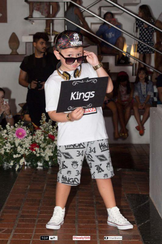 Benício Calijuri (sósia do Mc Gui) é destaque em evento da Top MDI e Loja Kings em Porto de galinha