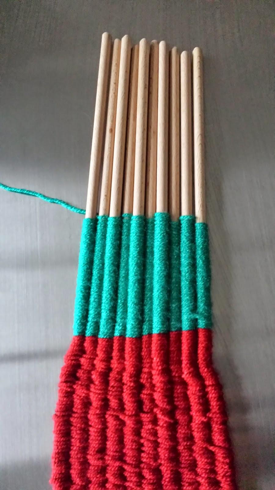 weven met stok