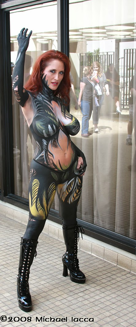 body paint de Witchblade