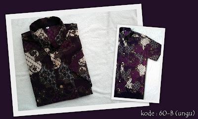 Baju Batik Pria 60B