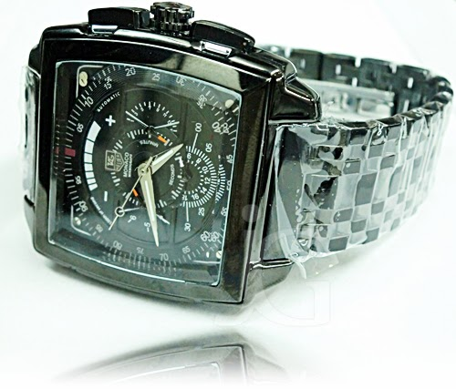 TAG HEUER MONACO CHRONOGRAPH OF SECOND STAINLESS Rp 300000
