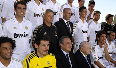 Plantilla oficial del Real Madrid