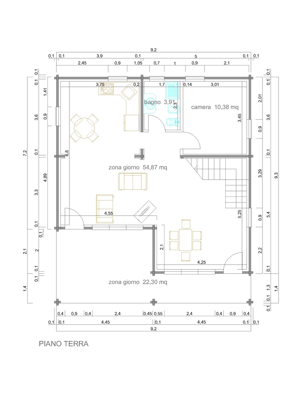 Case piano terra progetti fk18 pineglen for Case a un piano progetti