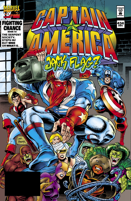 Captain America (1968) Issue #434 #384 - English 1