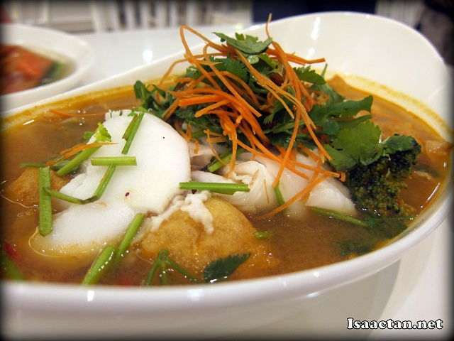 Coconut Tom Yam - RM17.90