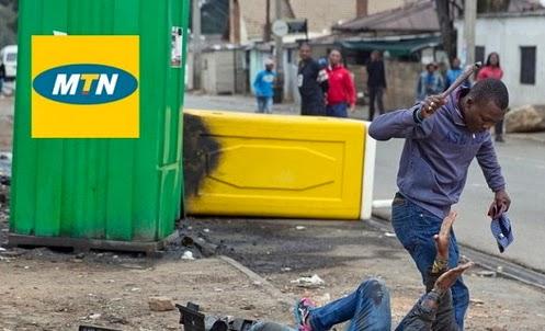 mtn xenophobia attack