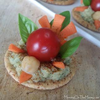 Our veggie turkey snack