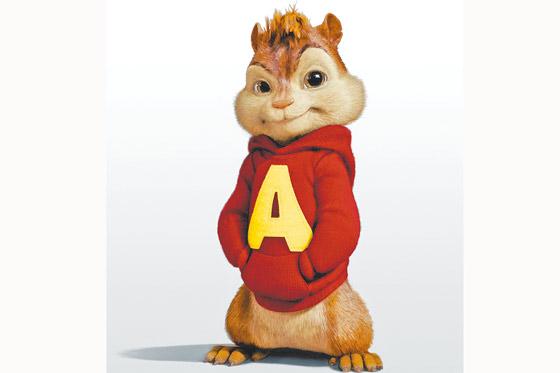 Imagenes de dibujos animados: Alvin y las Ardillas