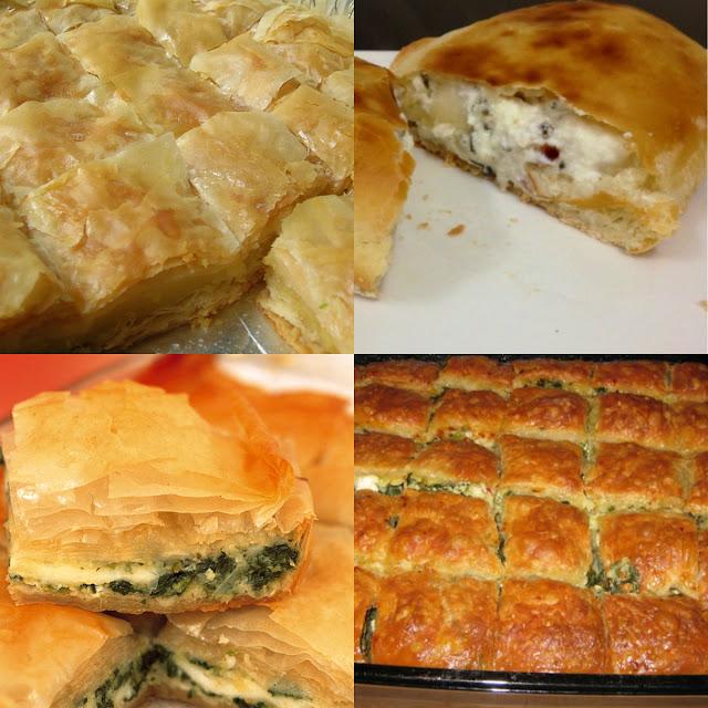 بوريك بالفرن من المطبخ التركي