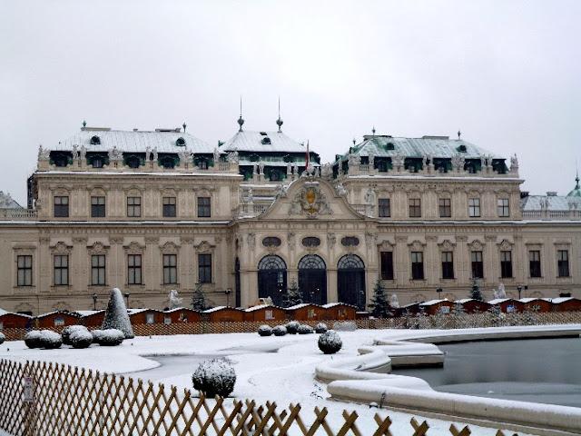castello del belvedere, vienna