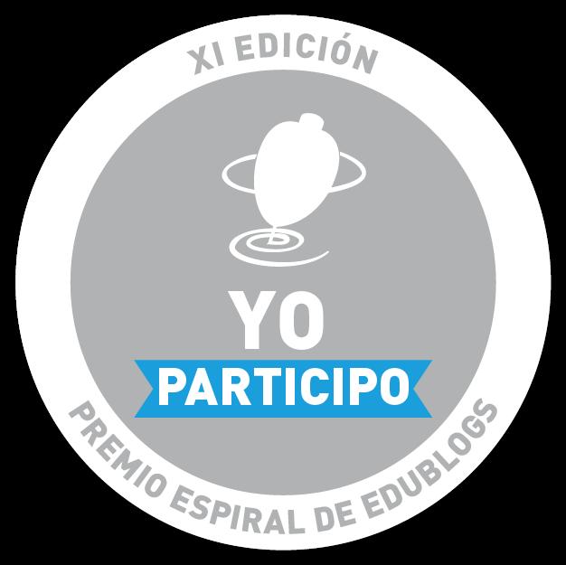 #yoparticipo en los Premios Espiral Edublogs