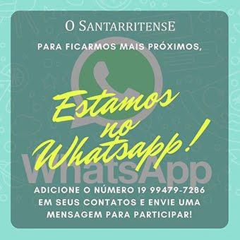 Receba notícias pelo WhatsApp