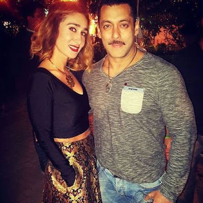 Pictures of Salman Khan 50th Birthday Bash
