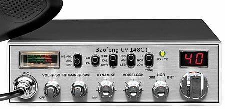 Baofeng CB radio. Compatible with Cobra 148GTL