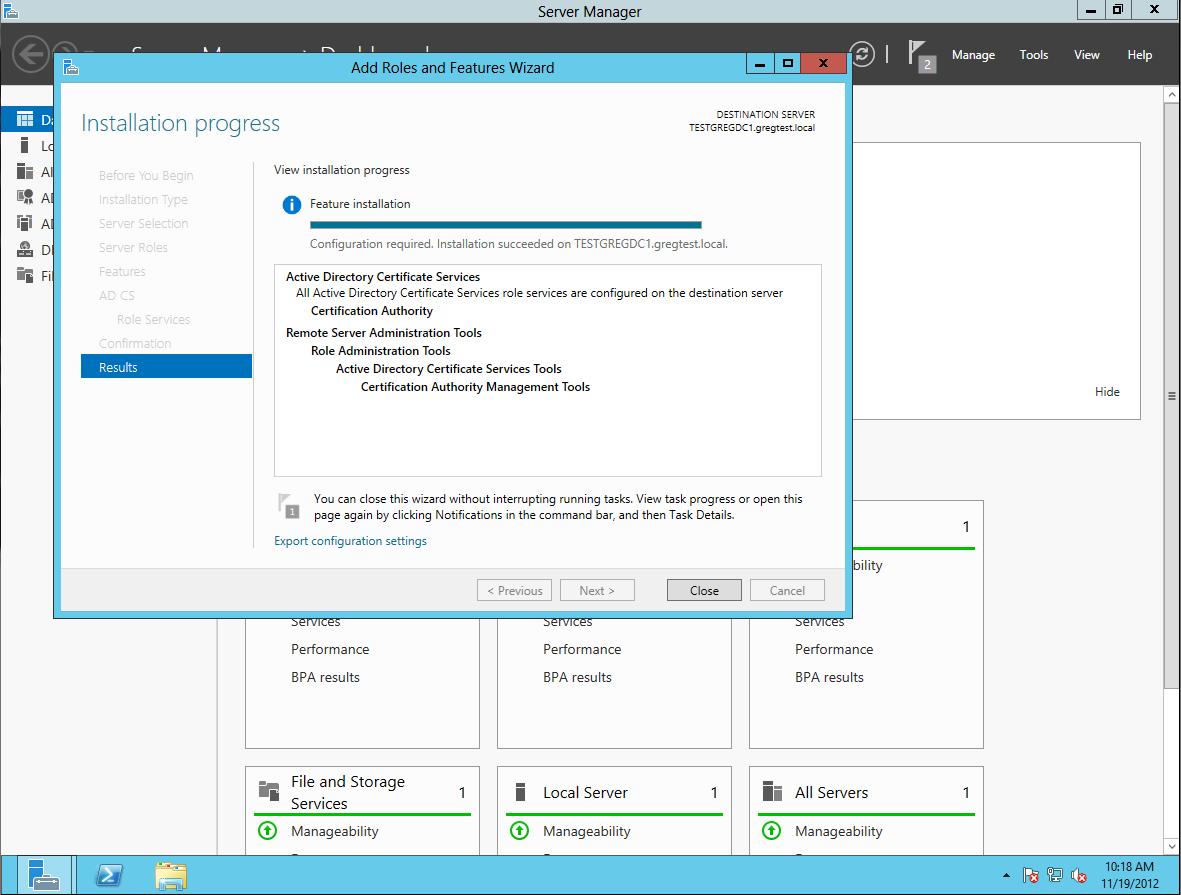 Gregs Technobabble Enabling Ldap Ssl In Windows 2012 Self Signed