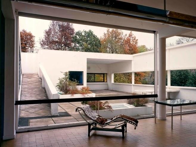 the expert villa savoye. Black Bedroom Furniture Sets. Home Design Ideas