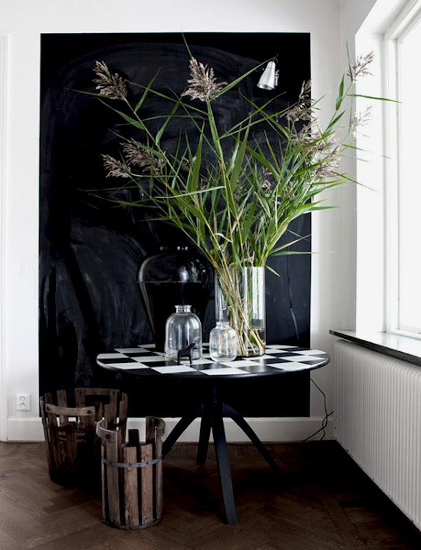 deco chambre interieur plantes vertes. Black Bedroom Furniture Sets. Home Design Ideas