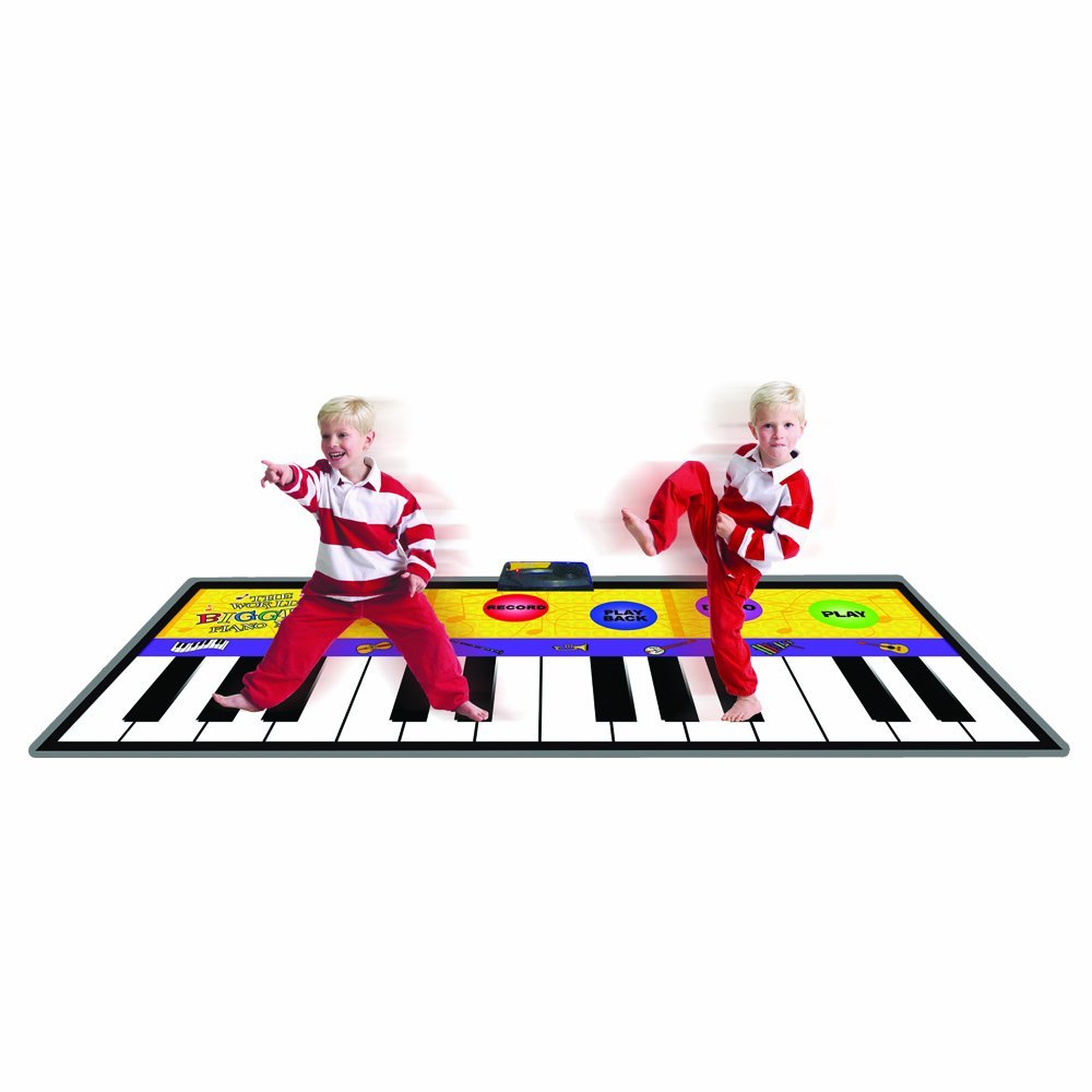 Total Fab Large Floor Foot Piano Keyboard Mat For Kids