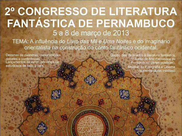Segundo Congresso de Literatura Fantástica de Pernambuco
