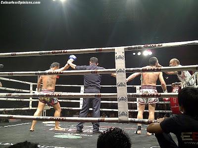 Thailand vs Challenger series 2012 Thailand vs Asia in Malaysia Muay Thai Madsua Lamai wins
