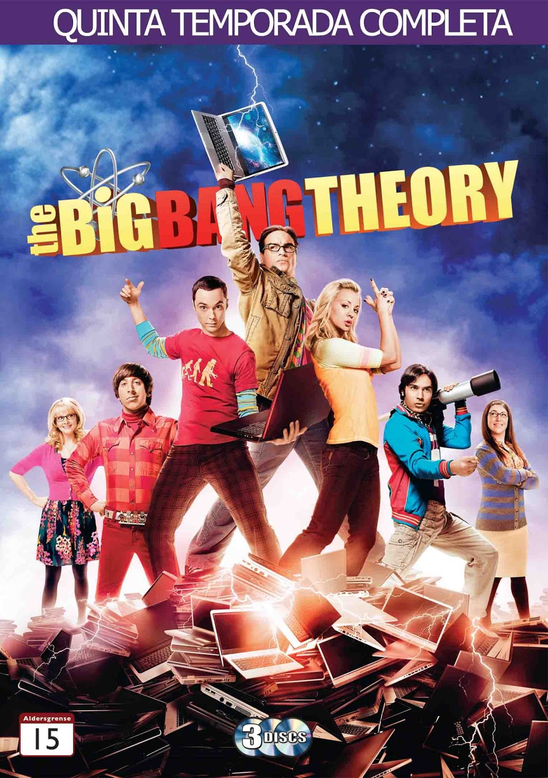 The Big Bang Theory 5ª Temporada Torrent – BluRay 720p Dual Áudio (2011)