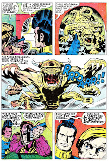 Omac v1 #5 dc bronze age comic book page art by Jack Kirby