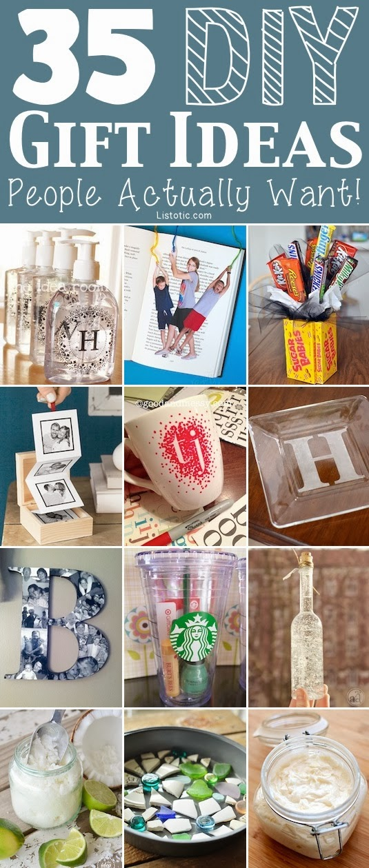 35 Easy DIY Gift Ideas Everyone Will Love