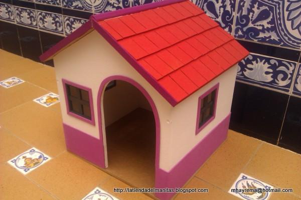 El mundo de las manualidades y la artesan a casa para mascota - La casa de la mascota ...