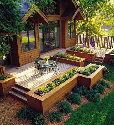 Wood Deck Designs on Pinterest Deck Design Decks and