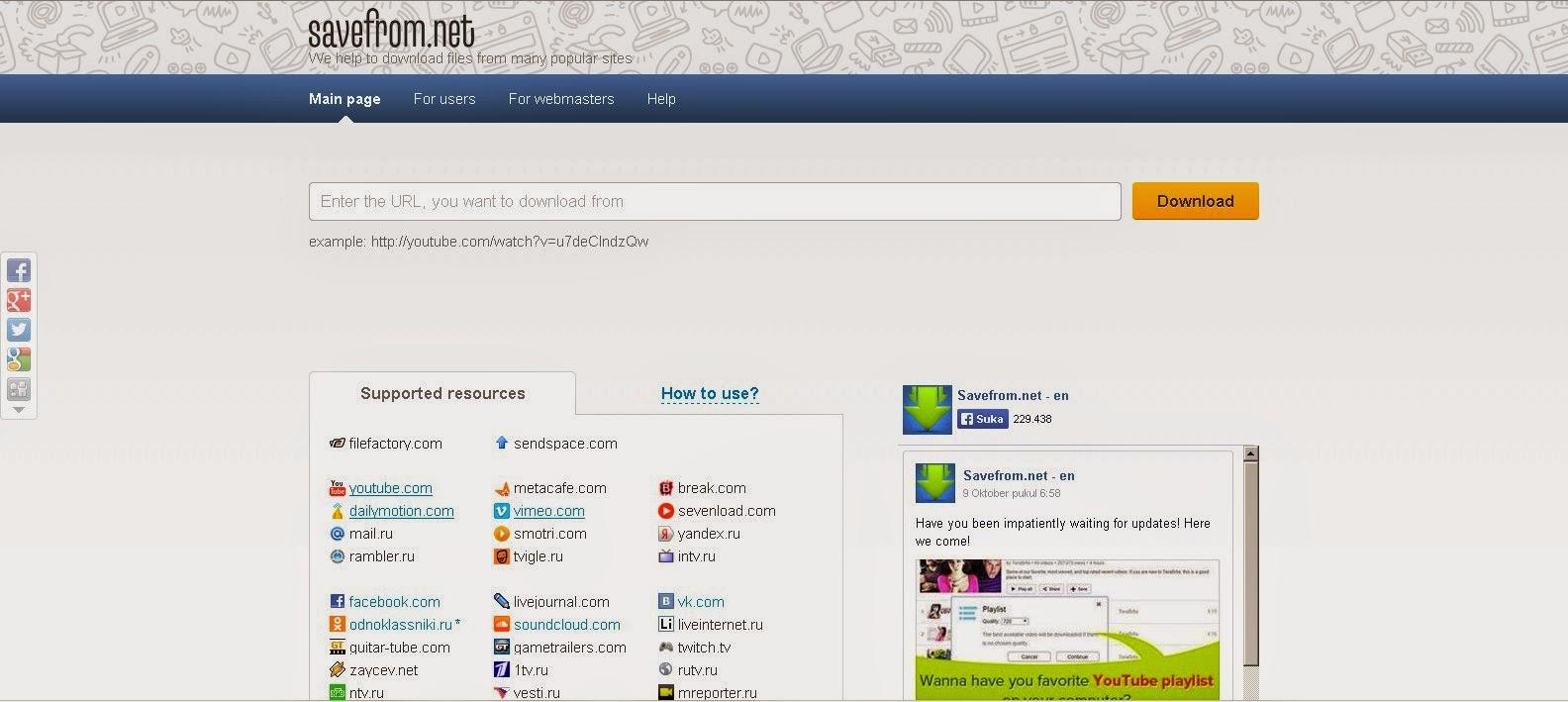 Situs Untuk Download Video Dari Youtube Terbaik Terpopuler