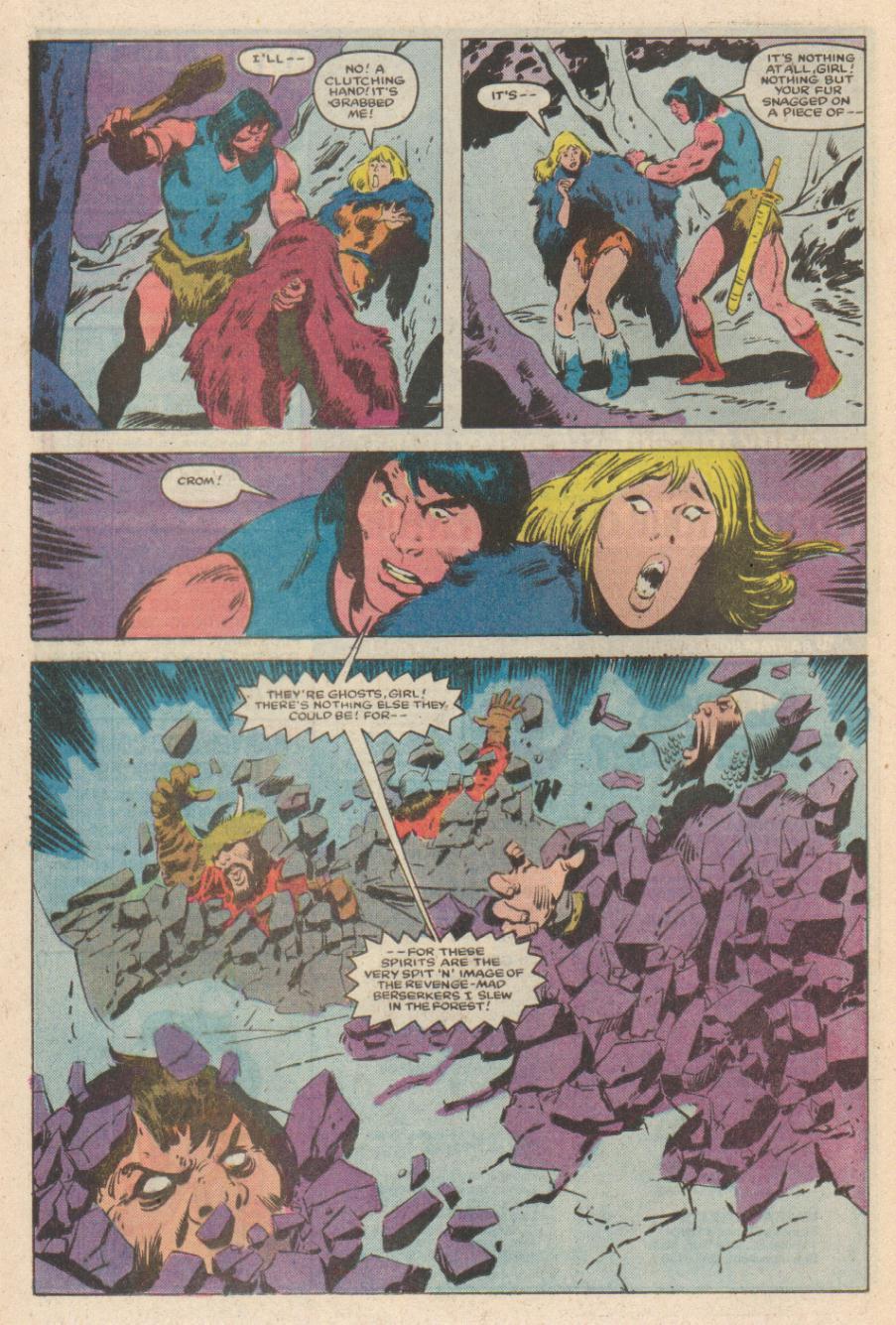 Conan the Barbarian (1970) Issue #169 #181 - English 18