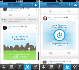 RunKeeper 3.5 for iOS devices a complete track keeper for your running, jogging and biking exercises