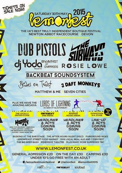 Lemonfest 2015 The Subways