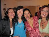 Francesca Zuniga(Zunray Yoga Mallorca),me, Sabrina Sassi and Ivana at Palma de Mallorca
