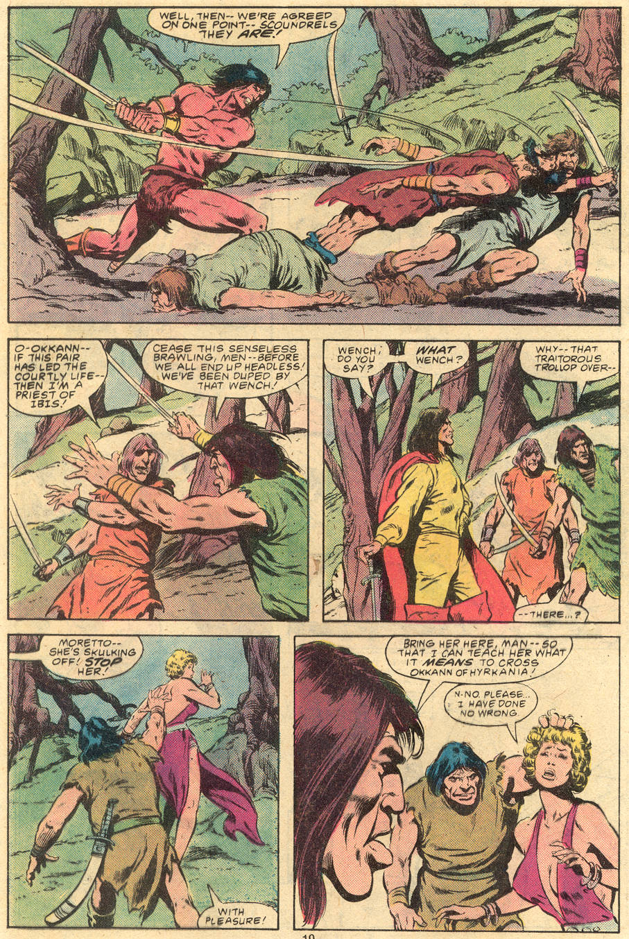 Conan the Barbarian (1970) Issue #120 #132 - English 10