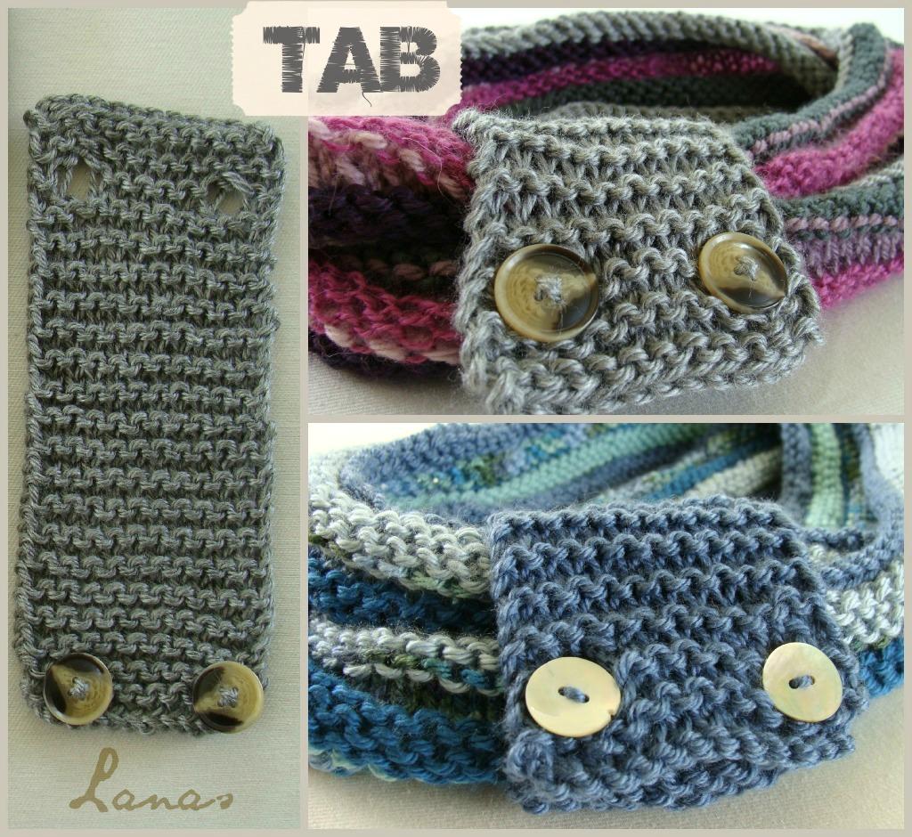 La cinta tejida es opcional. Su propósito es decorativo, además de funcional. Se puede usar para juntar la bufanda doblada en dos.
