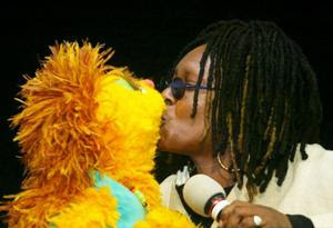 Sesame Street Characters Around The World Kami with Whoopi Goldberg
