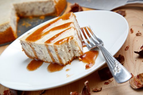 Chestnut Cheesecake on Closet Cooking
