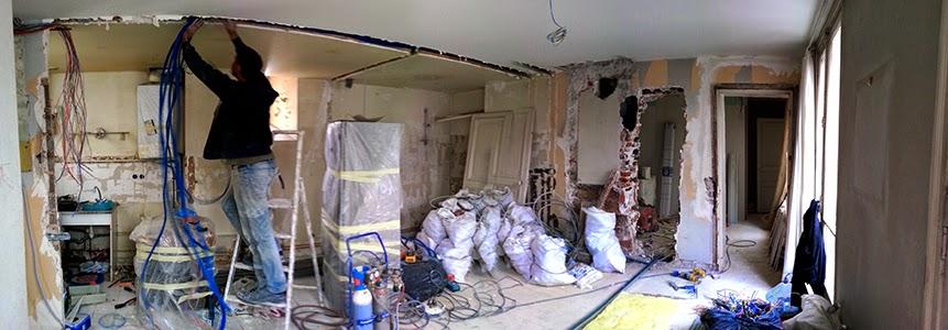 Devis travaux aménagement intérieur