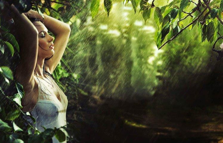 Retratos con agua, una fotografía increíble