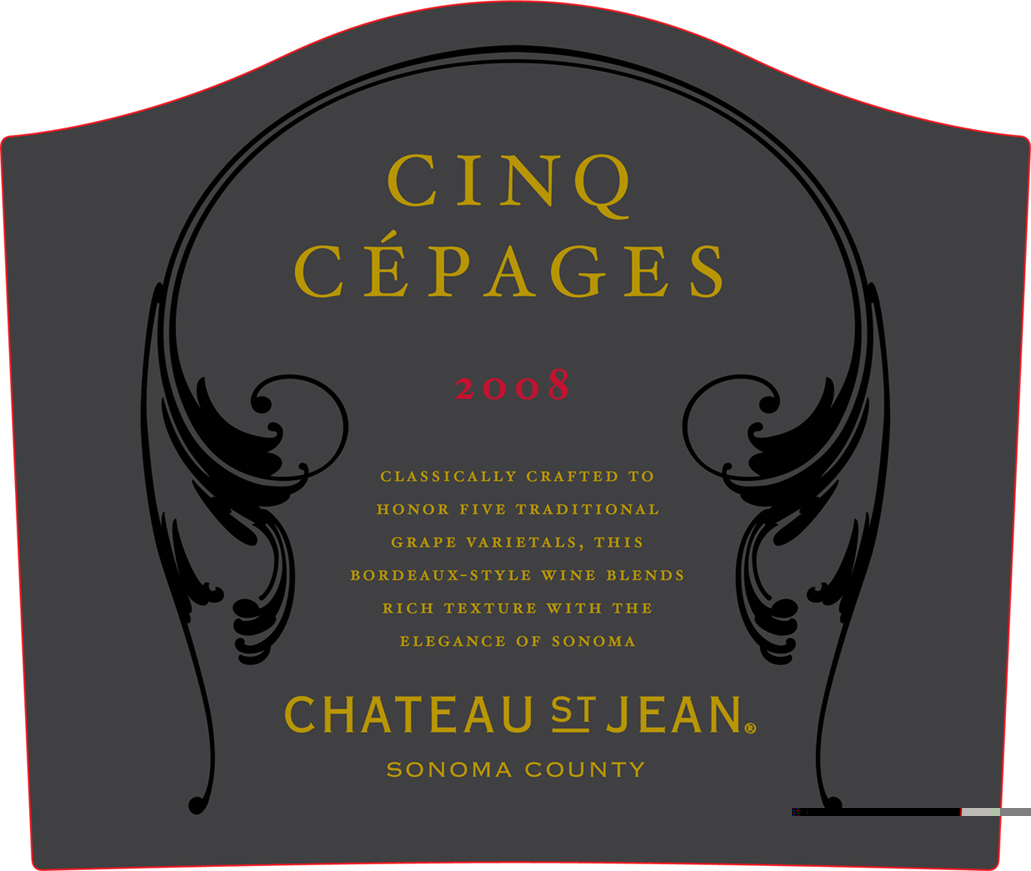 Chateau Saint Jean Chateau St. Jean Cinq Cepages 2010 Bordeaux Red Blends Wine Red Blends Wine
