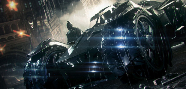 Batman: Arkham Knight -- Batmobile Battle Mode Reveal