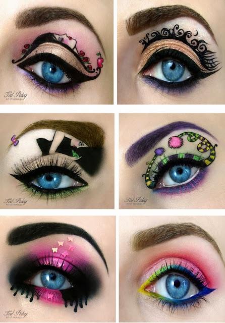 Tal Peleg maquiagem criativa